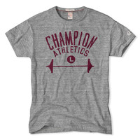 Champion Athletics T-Shirt in Grey