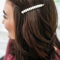 Elevated Love Hair Pin
