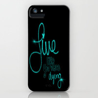 If Today Was Your Last Day - Black iPhone Case by jlbrady213 & KBY | Society6