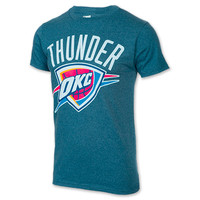Men's Majestic Oklahoma City Thunder NBA Durant Name and Number T-Shirt