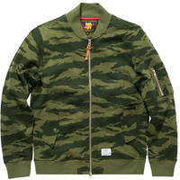 UNDEFEATED COMBAT TERRY MA1 JACKET | Undefeated