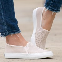 Keds Double Decker Suede Shoes | Petal Pink