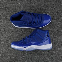 Air Jordan 11 Retro Royal Blue Sport Basketball Shoe