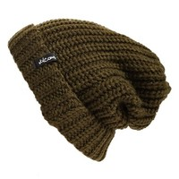 Junior Women's Volcom 'Catarina' Beanie - Green