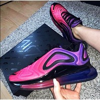 Bunchsun Nike Air Max 720 Classic Popular Women Air Cushion Sport Running Shoes Sneakers