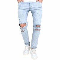 Men's Slim Fit / Ripped Denim Jeans
