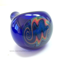 Glass Pipe, Reversal Wig Wag Pipe by Ed DuBick, Boro Ballers, Hand Blown Glass Pipes, READY to SHIP, Cgge Team