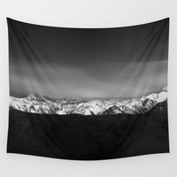 """Dream mountains"" Wall Tapestry by Guido Montañés"
