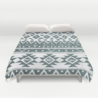 NORTH WIND TRIBAL Duvet Cover by Nika