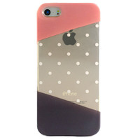 Clear Multicolor Polka Dot Pattern iPhone 6S/ 6 case