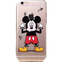 "Apple iPhone 6 Disney's Mickey Mouse clear case iPhone 6/6s (4.7"")"