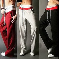 Three Coler Casual Big Code Sports Pants