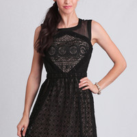 Vivianna Embroidered Dress