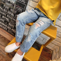 Boys & Girls Ripped Jeans