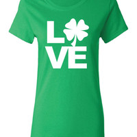 One Love Irish pub beer bar scotland saint st. Patrick's Paddy's ireland scottish T-Shirt Tee Shirt Mens Ladies Womens mad labs ML-288