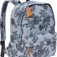 Old Navy Womens Floral Chambray Backpacks Size One Size - Chambray blue floral