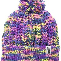 Neff Women's Space Beanie, Purple/Pink, One Size