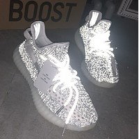 Adidas Yeezy 350 V2 Boots Static Trending Women Men Stylish Sport Running Shoes Sneakers