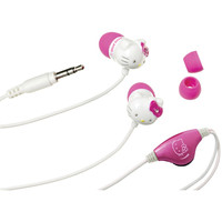 Hello Kitty Earbuds With In-line Volume Control