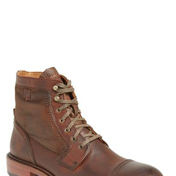 Men's Trask 'Union' Shearling Cap Toe Boot,