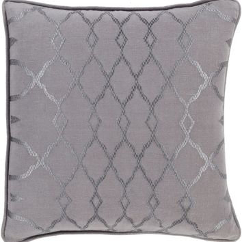 Lydia Throw Pillow Gray, Gray