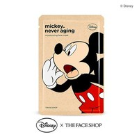 [THE FACE SHOP] Mickey_Never Aging Moisturizing Face Mask (Disney)