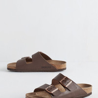 Boho Strappy Camper Sandal in Brown