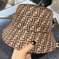 Fendi New fashion more letter print cap fisherman hat
