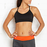 FOREVER 21 Medium Impact - Ladderback Sports Bra