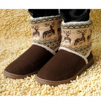 Women's Snow Boots Shoes Winter Boots Thicken