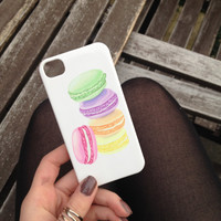 French Macaroons Cell Phone Case iPhone 3 3GS 4 4S 5 5S 5C Samsung Galaxy S2 S3 S4 Mini S5 Sony Xperia Z Blackberry Z10 Curve Bold HTC