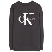 calvin klein jeans - mytheresa.com exclusive cotton logo sweatshirt