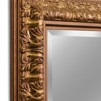 Ornate Gold Wall Mirror (8837) - Illuminada