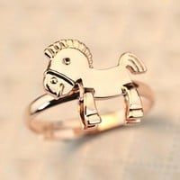 Shiny Gift New Arrival Jewelry Stylish Trojan Gifts Accessory Ring [6586197447]