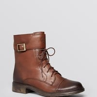 VINCE CAMUTO Combat Boots - Taryn Lace Up