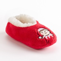 The Elf on the Shelf Chippey Fuzzy Babba Slippers - Toddler