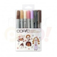 Copic Ciao Doodle Pack Marker Set 7 - People