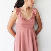 Eden Flounce Dress