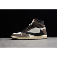 Travis Scott x Air Jordan Retro 1 High OG TS SP Sneakers
