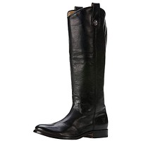 Melissa Button Boot in Black by The Frye Company