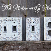 Cast Iron switch plates // light switch covers // switchplate // custom switchplates // cast iron light covers //