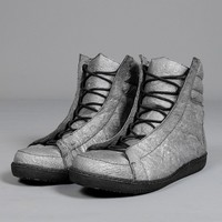 hi-top trainers silver - ROMBAUT - Layers London