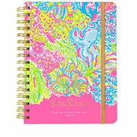 2016-2017 Large Agenda - Lovers Coral | Lilly Pulitzer