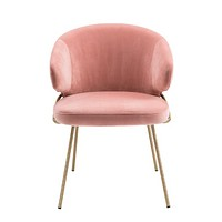 Blush Barrel Dining Chair | Eichholtz Kinley
