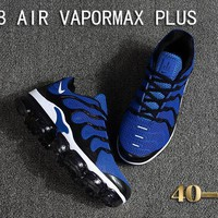Nike Air Vapormax Plus Tn Ultra Black White Blue VM Running Shoes