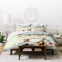 Lisa Argyropoulos Poetry Duvet Cover