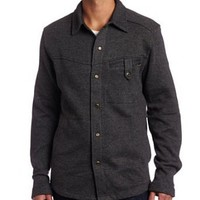 KAVU Men`s Bruce B Long Sleeve Shirt