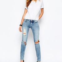 Blank NYC Skinny Jeans With Rips & Distressing
