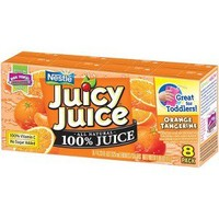 JUICY JUICE JJ FUN 8-4.23OZ ORANGE TANGER