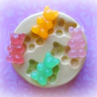 Gummy Bear Candy Mold Deco Sweets Kawaii Food by Molds4You on Etsy